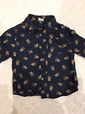 Christmas Boys Shirt 18-24 Months