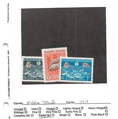Lot of 46 Maldives MH Mint Hinged Stamps #102376 X