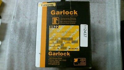 "Garlock 8922 1/4"" Synthetic Compression Packing - 60 day warranty   5 Pounds"