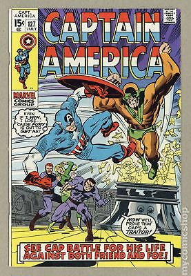 Captain America (1968 1st Series) #127 VF- 7.5
