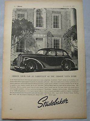 1937 Studebaker Original advert