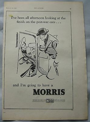 1946 Morris Original advert No.2