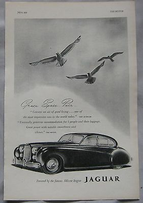 1952 Jaguar Original advert No.2