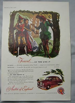1953 Austin Original advert No.1