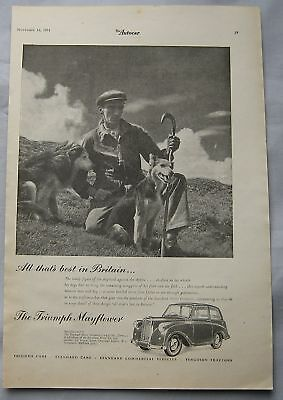 1951 Triumph Mayflower Original advert No.1