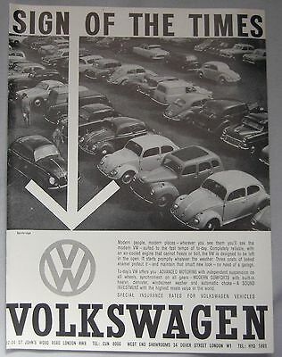 1961 VW Original advert