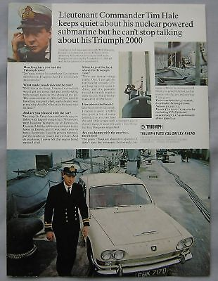 1968 Triumph 2000 Original advert