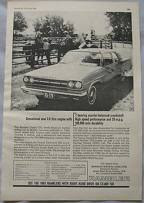 1964 Rambler Original advert