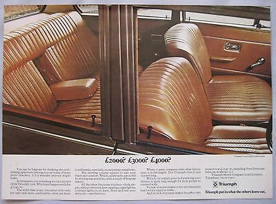 1971 Triumph 1500 Original advert No.2
