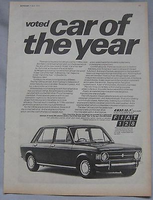 1970 Fiat 128 Original advert