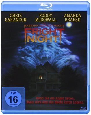 FRIGHT NIGHT (1985) Blu-Ray Import NEW (German Package with English Audio)