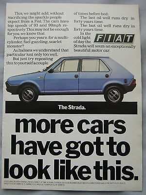 Fiat Strada Original advert