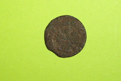 Authentic MEDIEVAL COIN flying eagle JOHANN KASIMIR 1666 money old antique relic