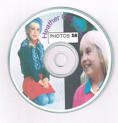 PHOTO CD 16 Heather O'Rourke Poltergeist Happy Days