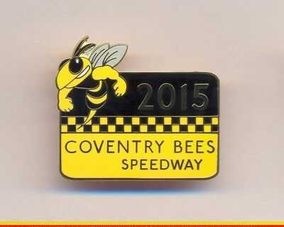 Coventry Bees  2015 speedway enamel badge