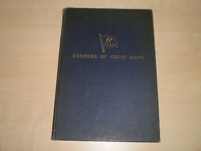 1959 Cammell Laird Shipbuilders Birkenhead Company History Illustrated Book