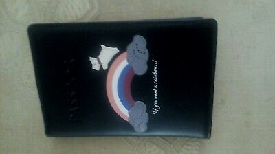 New Radley Leather Passport Holder (Rainbow) With Dust Bag. RRP £39