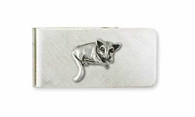 Sugar Glider Jewelry Sterling Silver Sugar Glider Money Clip Handmade Sugar Glid