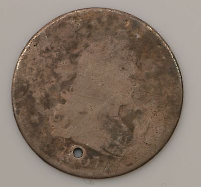 1807 Draped Bust *Holed* Silver Quarter *G85