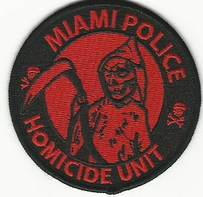 Miami Police Homicide Unit State of FLORIDA FL Shoulder Patch