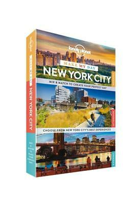 NEW Make My Day New York City By Lonely Planet Travel Guide Spiral Ringed Book