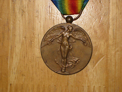 WW1 Belgium Belgian Victory Medal official type 1914-1918