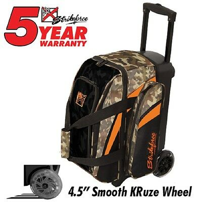 KR Cruiser Premium 2 Ball Roller Bowling Bag Color Camo
