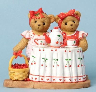 "Cherished Teddies ""friendship Cheery"" Roxy & Lulu #4031671 New *  Free Shipping"