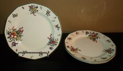 "(3) Royal Doulton OLD LEED SPRAY 10"" Dinner Plates"