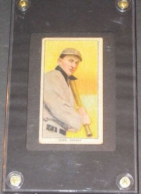 1909 T206 TY COBB Sweet Caporal Baseball Card Detroit Tigers READ LISTING
