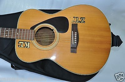 Yamaha FG-331 Acoustic Guitar Vintage With Case