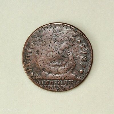 1787 U.S. Fugio Cent - Nice Looking Colonial Coin