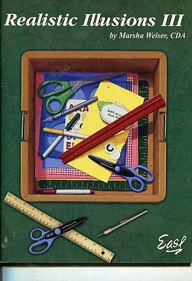 PAINTING BOOK - REALISTIC ILLUSIONS III by Marsha Weiser