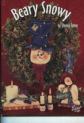PAINTING BOOK - BEARY SNOWY by Sheena Toews