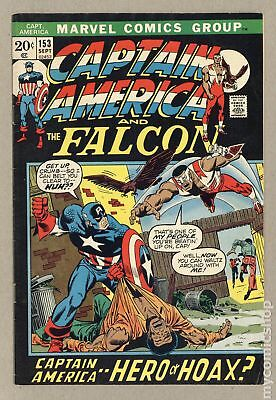 Captain America (1968 1st Series) #153 VG+ 4.5