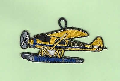Northern Tier Atikokan Yellow Float Plane Patch