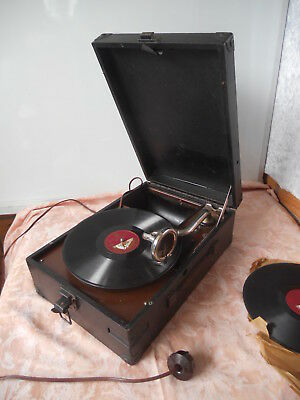 Antique Gramophone His Masters Voice Hayes Middlesex England