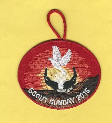 2015 Bsa Scout Sunday Patch
