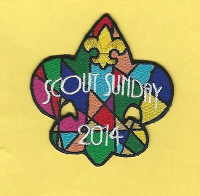 2014 Bsa Scout Sunday Patch