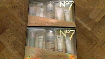 No7 BEAUTIFUL 2x BEAUTIFUL SKIN REGIME COLLECTION GIFT SETS BRAND NEW