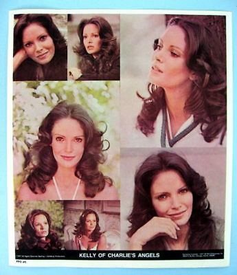 CHARLIE'S ANGELS Jaclyn Smith (Kelly) Original 1977 TV Show Poster Put-On