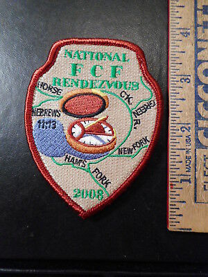 Royal Rangers National FCF Rendezvous 2008 Patch  1011TB.