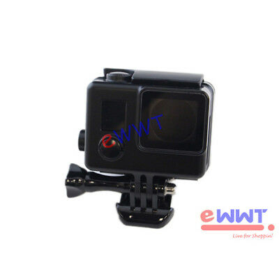 Black * Protective Camera Housing Case Shell Side Open for GoPro Hero 4 KQOS035