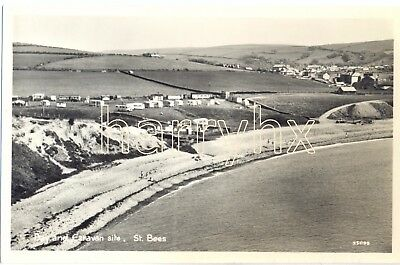St Bees Caravan Site and Bay. Near Whitehaven. Cumbria