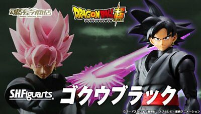 BANDAI Premium S.H.Figuarts Goku Black Action Figure Completed DragonBall Super