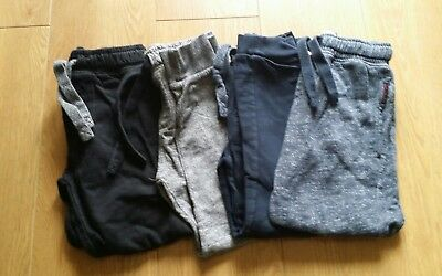 Fab Boys Next 4 x Jogging Bottoms/Joggers Age 7 Years