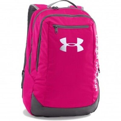 Under Armour- Rucksack Hustle. pink. 29l. Sport. Fitness. Lifestyle. Training