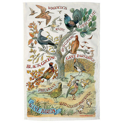 Emma Bridgewater Game Birds Tea Towel NEW