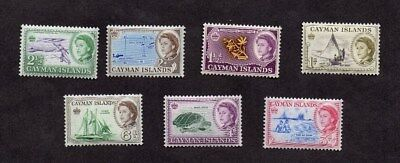CAYMAN ISLANDS.1962.PICTORIAL DEFINITIVE SET 1d to 6d.MINT NEVER HINGED.