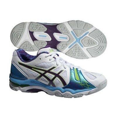 Womens asics Gel Netburner Super 5 Outdoor Court Netball Trainers Shoes Size 10